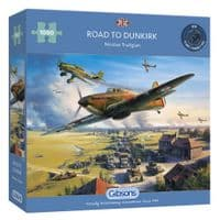 Road to Dunkirk - 1000 Pieces|Gibsons Jigsaws